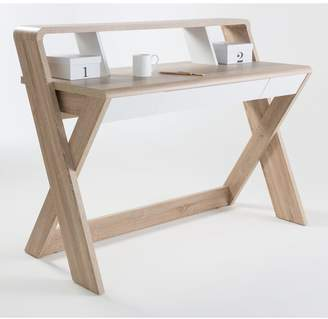 Aspen Desk with Shelf and Drawer