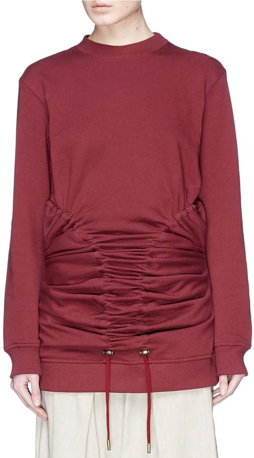 Y/Project Ruched panel sweatshirt