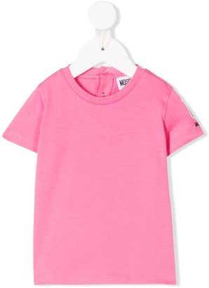 Moschino Kids solid-color T-shirt