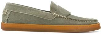 Henderson Baracco Contrast Stitch Loafers