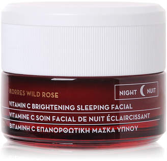 Korres Wild Rose Vitamin C Brightening Sleeping Facial, 1.4 oz.