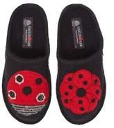 Haflinger Women's Ladybug Slipper