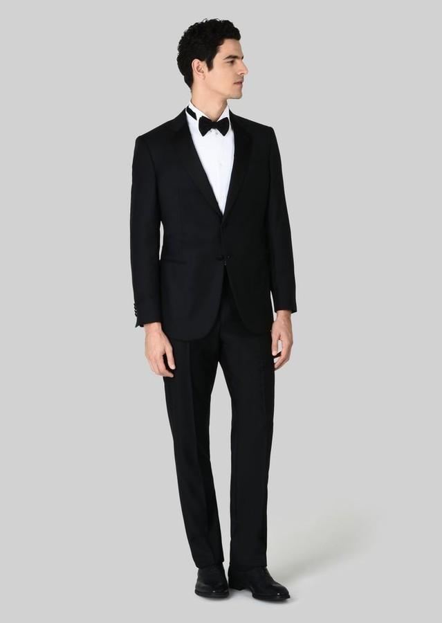 Giorgio Armani Wall Street Wool And Cashmere Tuxedo