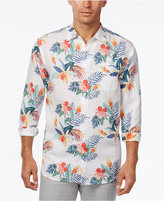 Tommy Bahama Men's Gardenia Blooms Floral-Print Linen Long-Sleeve Shirt