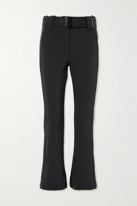Goldbergh Pippa Belted Flared Ski Pants - Black