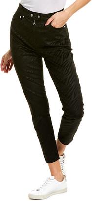 Rag & Bone Nina Black Zebra High-Rise Ankle Skinny Leg