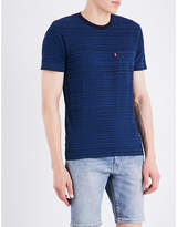 Levi's Sunset Striped Cotton-jersey T-shirt
