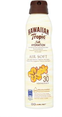 Hawaiian Tropic Silk Hydration Air Soft Lotion Continuous Spray Spf30 177Ml