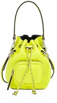 Fendi Mini Mon Tresor Leather Bucket Bag