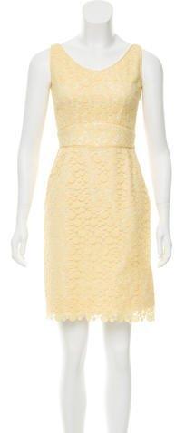 Marc Jacobs Lace A-line Mini Dress