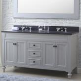"Three Posts Latimer 60"" Double Bathroom Vanity Set"