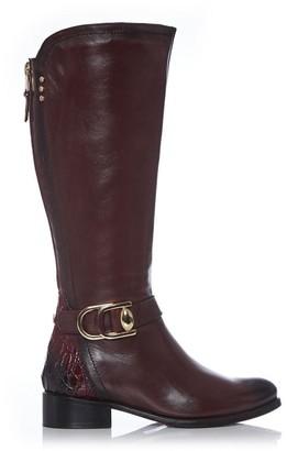 Moda In Pelle Talian Burgundy Leather