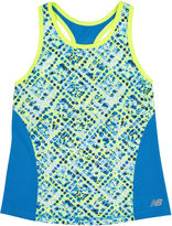 New Balance Fashion Print Tank Top - Girls 7-16