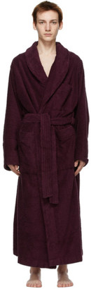 Tekla Purple Classic Bathrobe
