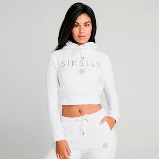 SikSilk Women's Crop Hoodie