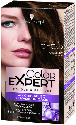 Schwarzkopf Colour Expert Permanent Hair Colour 5.65 Chestnut Brown