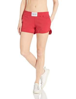 Calvin Klein Women's Smocked Waistband Short