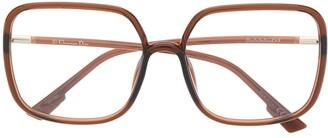 Christian Dior Square-Frame Glasses