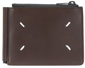 Maison Margiela Stitches Zipped Cardholder