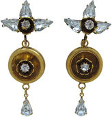 One Kings Lane Vintage 1950s Floral Pendulum Earrings
