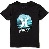 Hurley Little Boys 4-7 Dawn Of Surf Short-Sleeve Tee