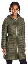 Cole Haan Women's Mid Length Packable Down Coat