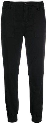 J Brand Cropped Slim Fit Trousers