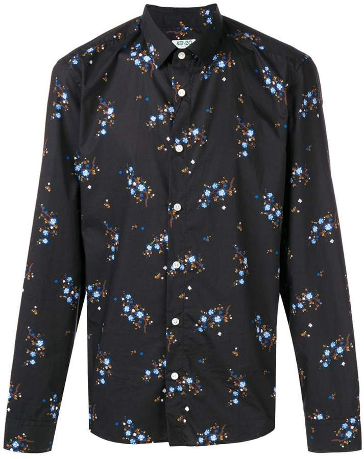 Kenzo floral printed blouse