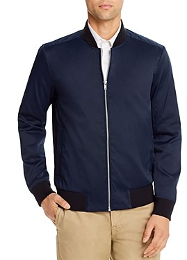 Theory Brant Regular Fit Bomber Jacket
