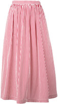 Rossella Jardini - striped full skirt - women - Cotton - 40