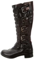 Reed Krakoff Quilted Knee-High Boots