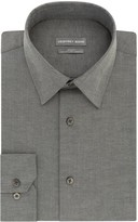 Geoffrey Beene Men's Extra-Slim Fit Stretch Flex Point-Collar Dress Shirt