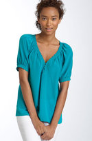 Halogen® 'Boho' Silk Blouse