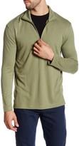 Burma Bibas Lightweight Quarter Zip Knit Pullover