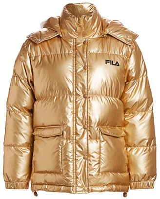 Fila Kinsley Metallic Puffer Jacket