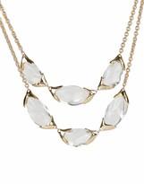 Alexis Bittar Encased Pebble Double Strand Necklace