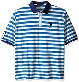 U.S. Polo Assn. Men's Big-Tall Slim Fit Shadow Stripe Polo Shirt