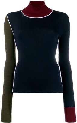 Maison Margiela Turtle Neck Knitted Top