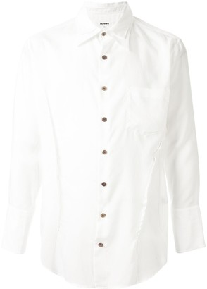 Sulvam Layered Collar Shirt