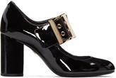 Lanvin Black Patent Mary Jane Heels
