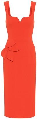 Rebecca Vallance Galerie crApe midi dress