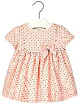 Mayoral Baby-Girl Pink-Wool-Blend Dress