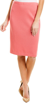 St. John Wool-Blend Pencil Skirt