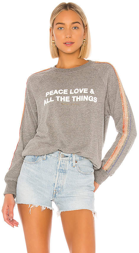 Spiritual Gangster Peace Old School Pullover
