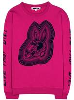 McQ Bunny Be Here Now cotton sweater