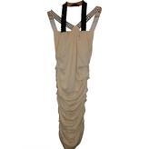 Balmain Ecru Wool Dress