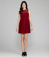 Kensie Lace Sweetheart Dress