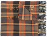 Loewe large-check scarf