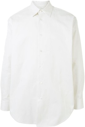 Jil Sander Long Sleeve Cotton Shirt