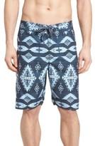True Grit Men's Blue River Board Shorts